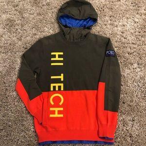 🆕 Polo Ralph Lauren Men's Hi Tech Knit hoodie